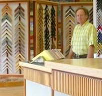 Mitch Fisher in Frame Shop